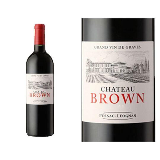 Château Brown Rouge 2017 - Vin  Rouge
