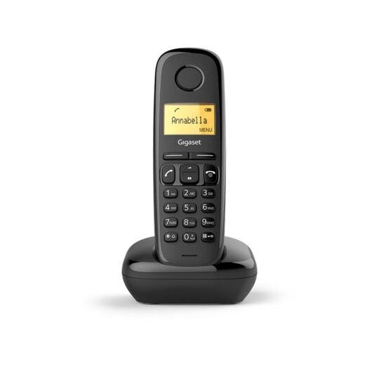 Téléphone fixe sans fil Solo - A170 - Noir