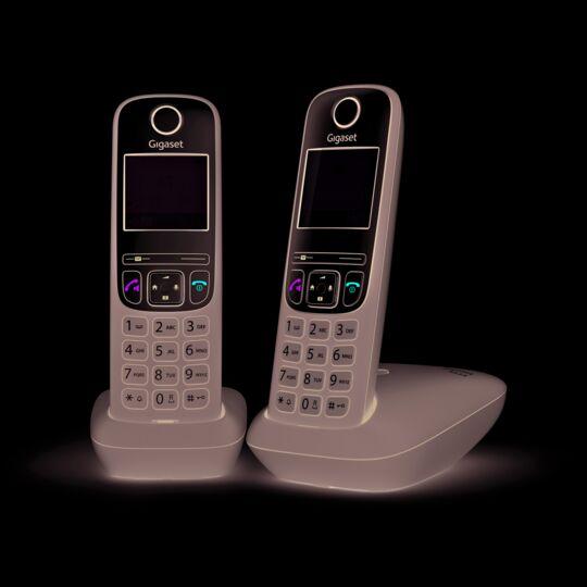 Téléphone fixe sans fil Duo - A635 - Anthracite