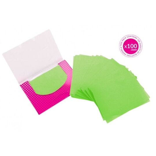 BRUSHWORKS - 100 papiers absorbants BRUSHWORKS