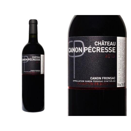 Château Canon Pecresse 2015 - Vin  Rouge