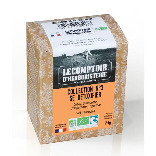 Collection N°3 Se Detoxifier 4x5 Infusettes Bio LE COMPTOIR D'HERBORISTERIE