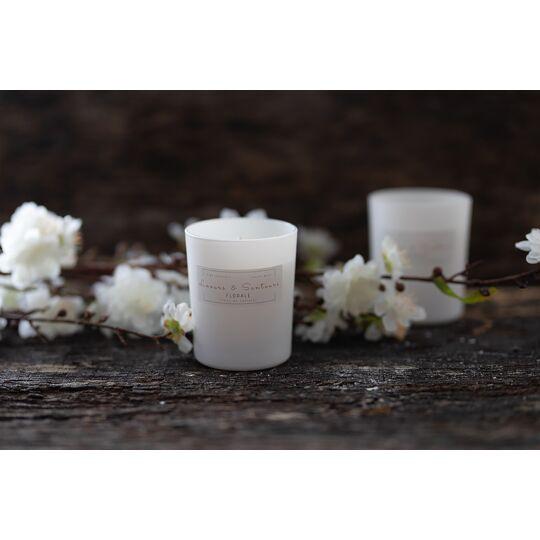 Bougie Fleur De Cerisier 180g - Mèche En Coton naturel