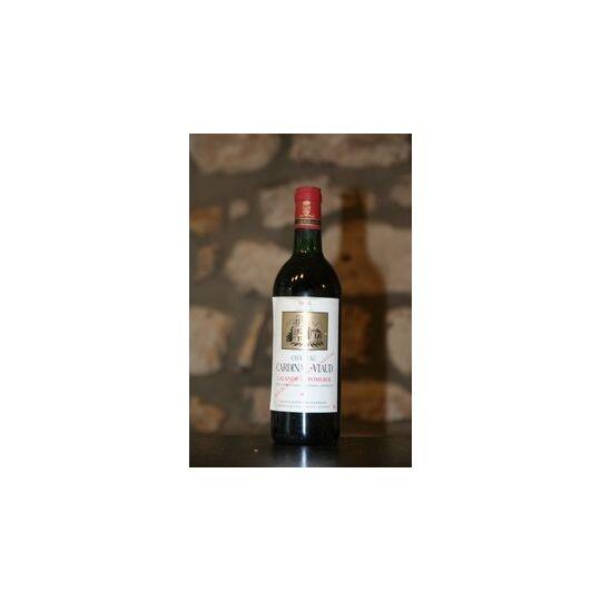 Vin Rouge, Chateau Cardinal Viaud 1986