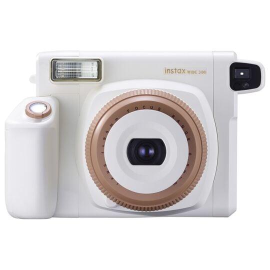 Appareil photo instantané Instax Wide 300 Toffee - 16651813 - Blanc/Caramel