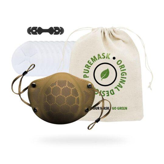 PUREMASK | Masque en silicone réutilisable - Catégorie 1 - ( Sable / M ) PURE FACTORY