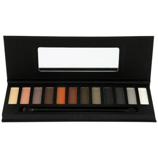Palette De Maquillage Nude Et Smoky - 14pcs GLOSS