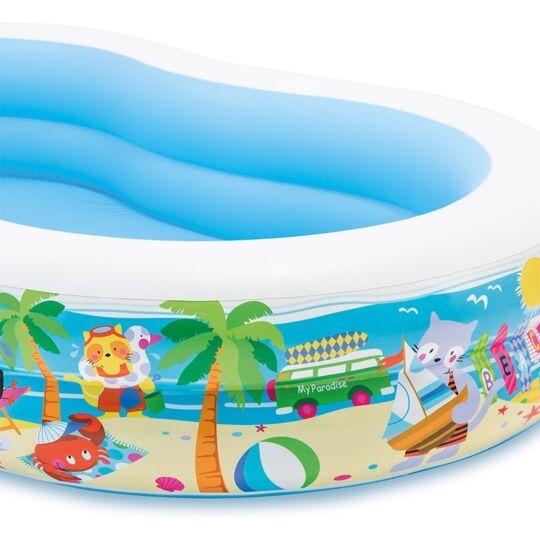 Piscine Gonflable Paradis Lagoon 262x160 Cm INTEX