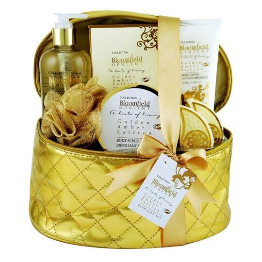 Coffret De Bain Au Parfum Subtil D'ambre Et Safran - 7pcs GLOSS