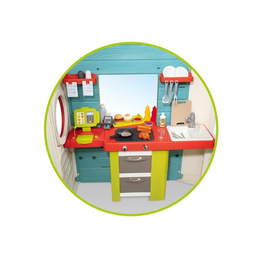 Cabane Enfant Chef House - Smoby SMOBY