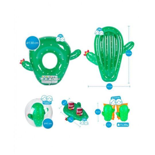 Bouée Gonflable Bouées Et Flotteurs Pack Cactus Multicolore AIRMYFUN