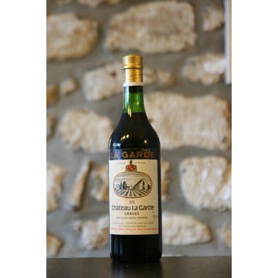 Vin Rouge, Château La Garde 1979