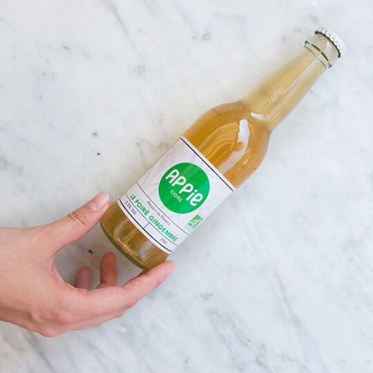 Cidre APPIE - LE POIRÉ GINGEMBRE BIO (3.3%) - 33cl APPIE