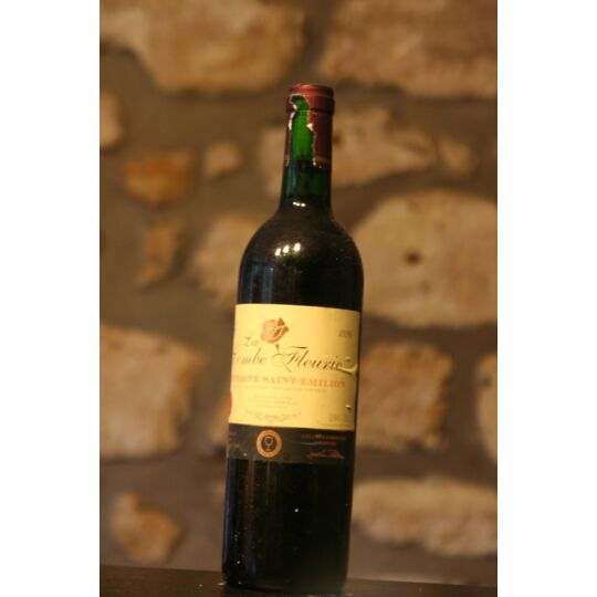 Vin Rouge, La Combe Fleurie 1996
