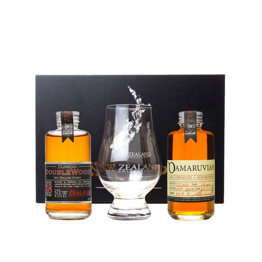 New Zealand Whisky (the) 18 Ans 2x10cl + 1 Verre