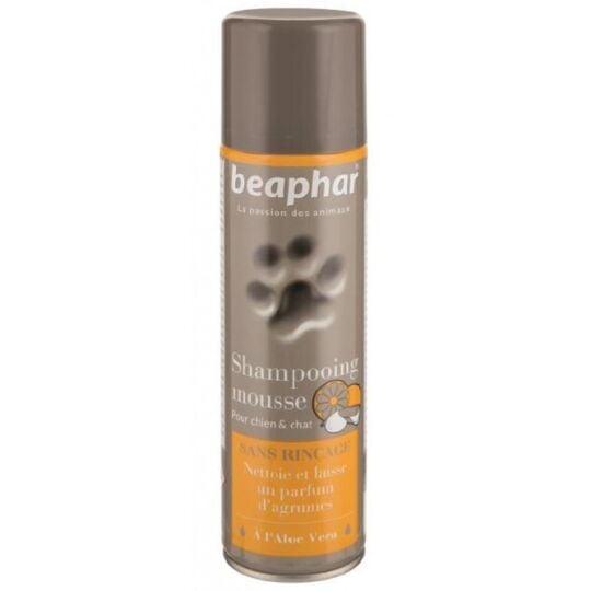Beaphar Shampooing Mousse Sans Rinçage, À L'aloe Vera, 250 Ml BEAPHAR