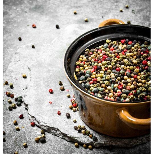 Mélange 4 Poivres Bio Fairtrade Igp De Kampot - 200g - Hecosfair HECOSFAIR