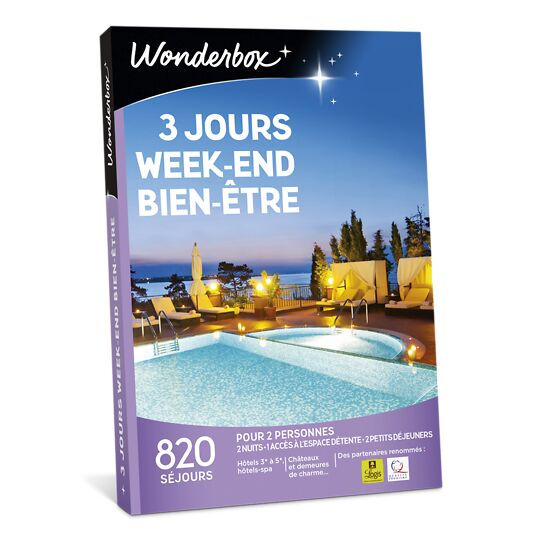 3 Jours Week-end Bien-être WONDERBOX
