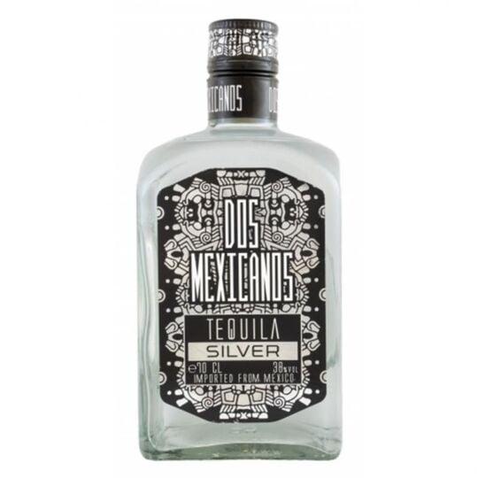 Tequila Dos Mexicanos Silver 70cl
