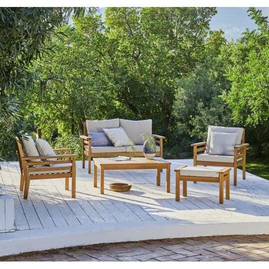 Salon bas de jardin jakarta 5 pi ces prix carrefour - Catalogue carrefour salon de jardin ...