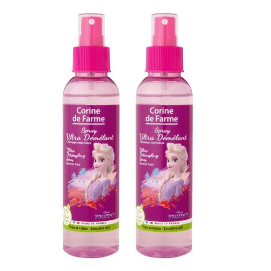 Lot De 2 Corine De Farme - La Reine Des Neiges 2 Elsa - Spray Ultra Démêlant CORINE DE FARME