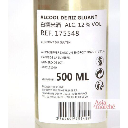Alcool De Riz Gluant 500ml (12°) ASIAMARCHE