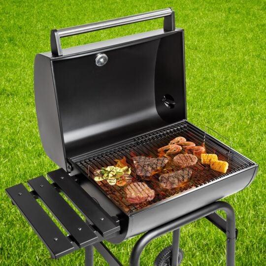Barbecue Charbon Avec Thermomètre TECTAKE
