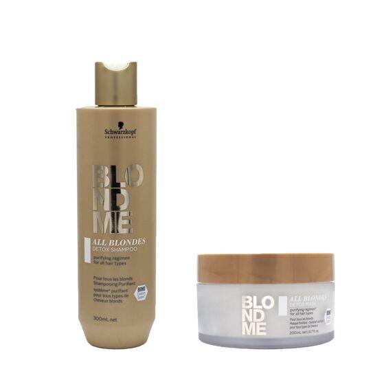Duo Blondme Purifiant Shamp 300ml + Masque 200ml