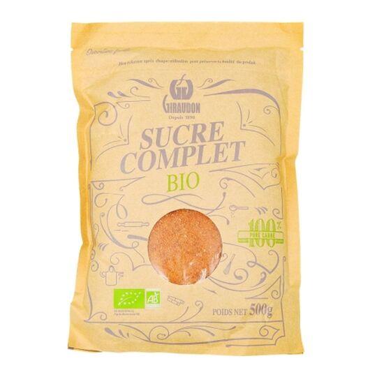 Sucre Complet Bio - Paquet 500g GIRAUDON