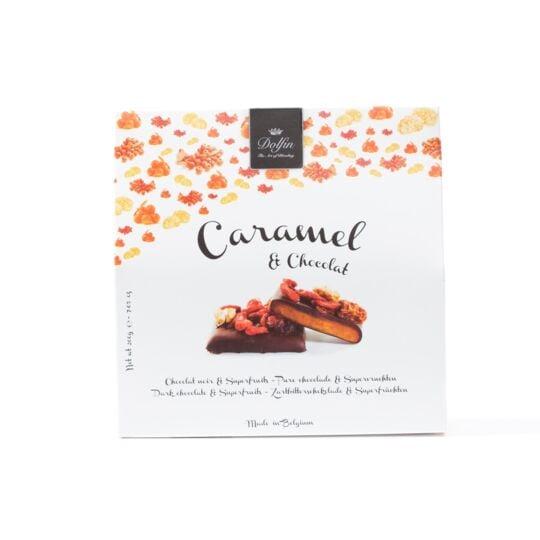 Caramel & chocolat - Chocolat noir et supperfruit (200g) CHOCOLAT DOLFIN