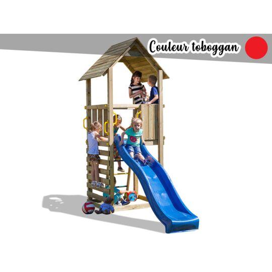 Aire De Jeux Carol 1 - Toboggan Rouge FUNGOO