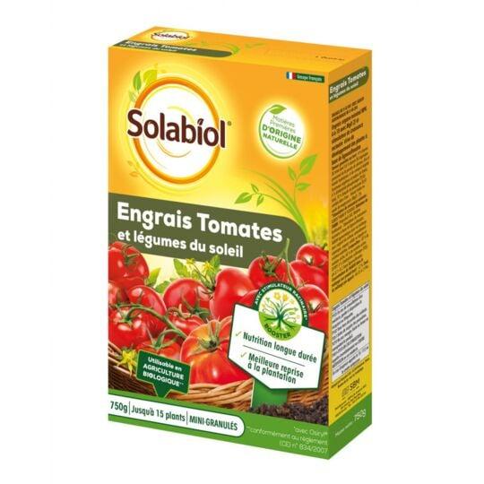 Engrais Tomates Et Legumes Du Soleil - Etui De 750grs SOLABIOL