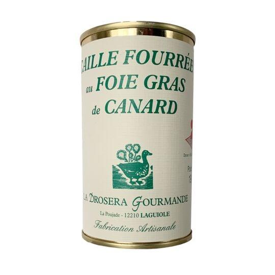 Caille Fourre E Au Foie Gras De Canard MADE IN FRANCE BOX
