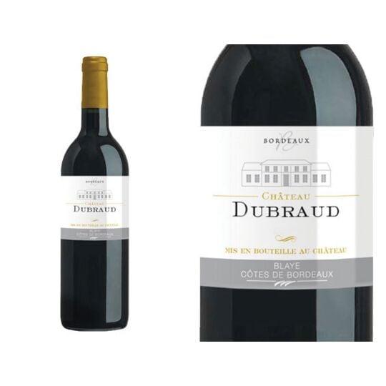 Château Dubraud Rouge 2014 - Vin  Rouge