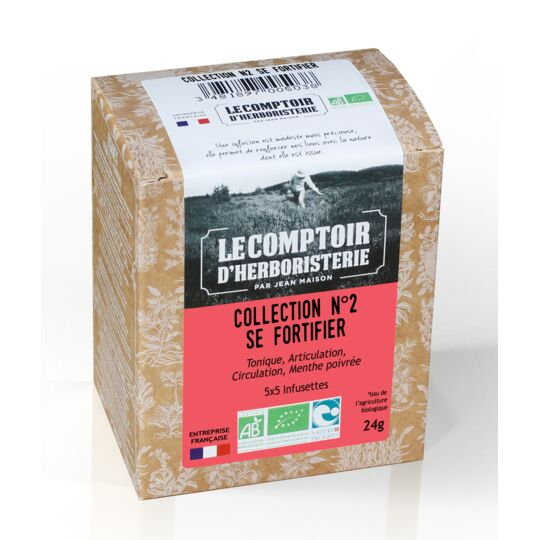 Collection N°2 Se Fortifier 4x5 Infusettes Bio LE COMPTOIR D'HERBORISTERIE