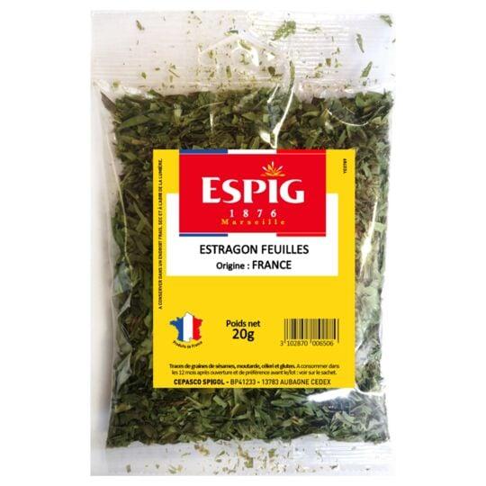 Estragon feuille Herbe aromatique 20g ESPIG