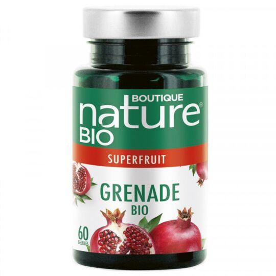 Grenade Bio - 60 Gélules Végétales De 430 Mg BOUTIQUE NATURE