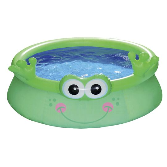 Piscine gonflable ronde grenouille CARREFOUR