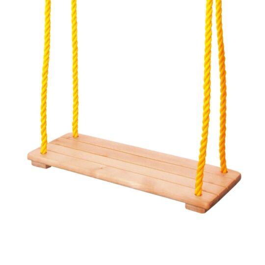 Swing Balançoire Avec Siège En Bois Naturel Jusqu'à 50 Kg WOODY
