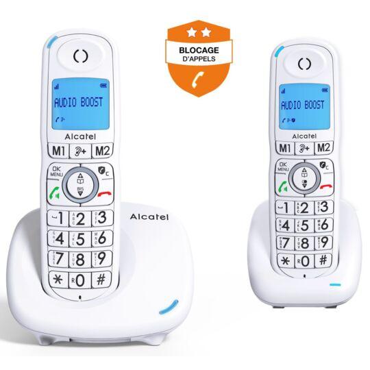 Téléphone Sans Fil Alcatel Xl 585 Duo Blanc