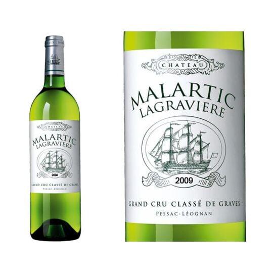 Château Malartic-lagravière Blanc 2011 - Vin  Blanc