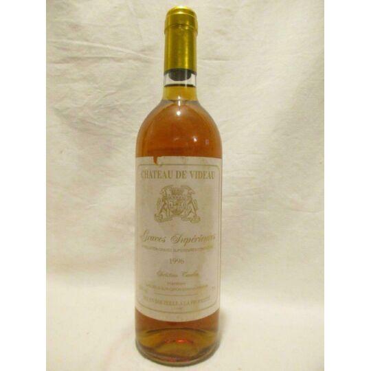 Graves Supérieures Château De Videau Liquoreux 1996 - Bordeaux