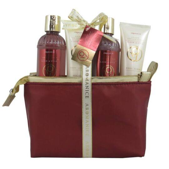 Coffret De Bain - Trousse Rouge Et Dorée - Aromanice - Cidre De Cèdre GLOSS