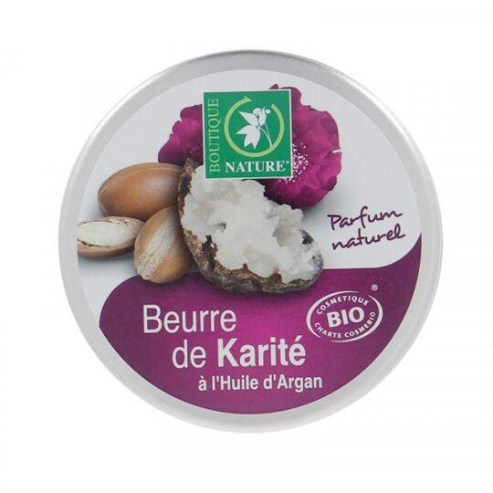 Beurre De Karité À L'huile D'argan Bio - 100 Ml BOUTIQUE NATURE