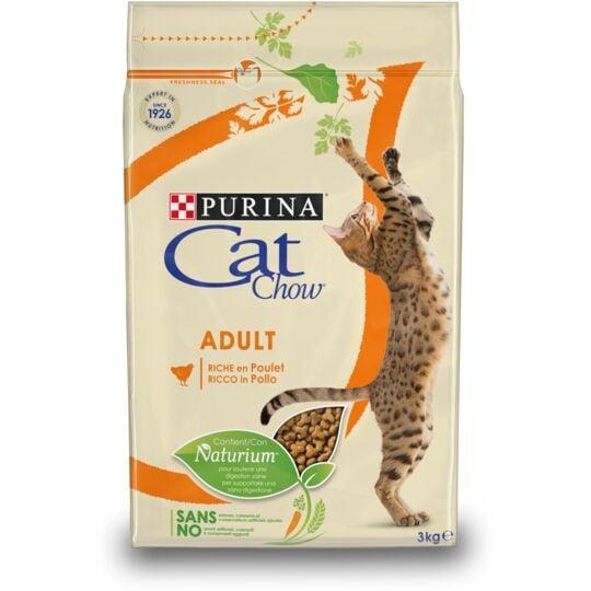 Croquettes Purina Cat Chow Chat Adulte Poulet 10 Kg CAT CHOW