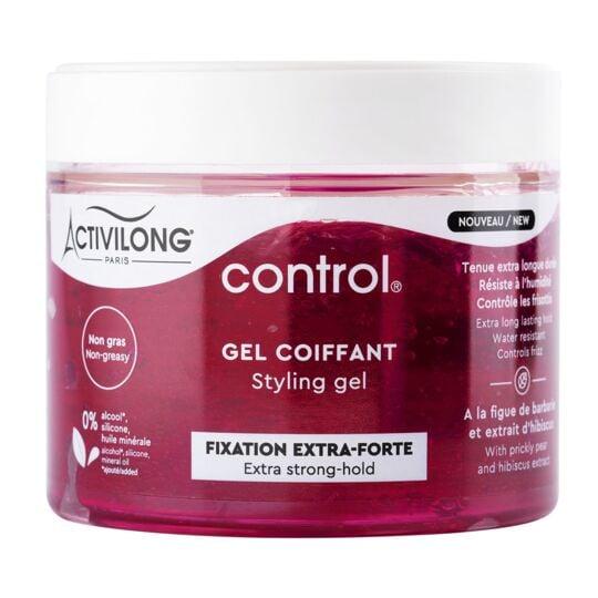 Gel Coiffant Fixation Extra-forte Control Activilong