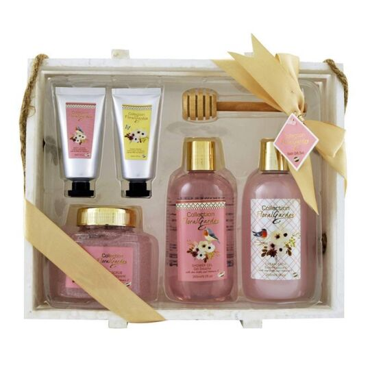 Coffret De Bain Parfum Fleur De Pivoine Et Patchouli - 6pcs GLOSS
