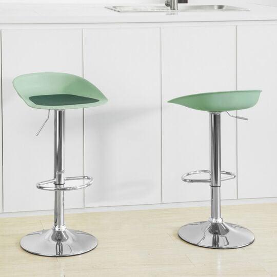 Sobuy Fst75-gr Tabouret De Bar Design Chaise De Bar Cuisine Rotatif Sur 360° SOBUY
