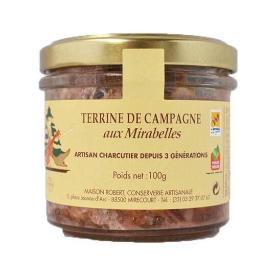 Terrine De Campagne Aux Mirabelles