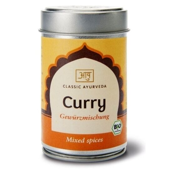 Curry indien Bio mélange épices indiennes 40g CLASSIC AYURVEDA
